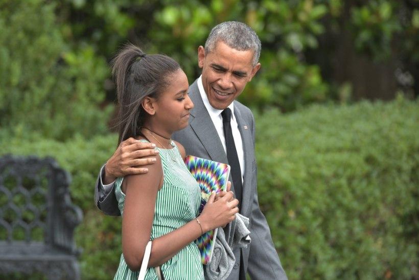 Obamade nooremast tütrest on sirgunud tippkaunitar