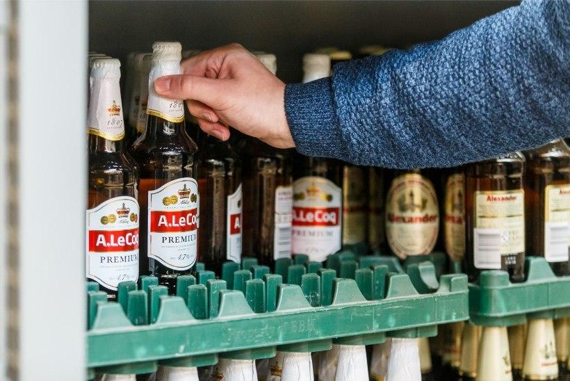 LÄTI JÄÄB KAUGEKS? Alkoholi tarbimine langes viimase kümne aasta madalaimale tasemele