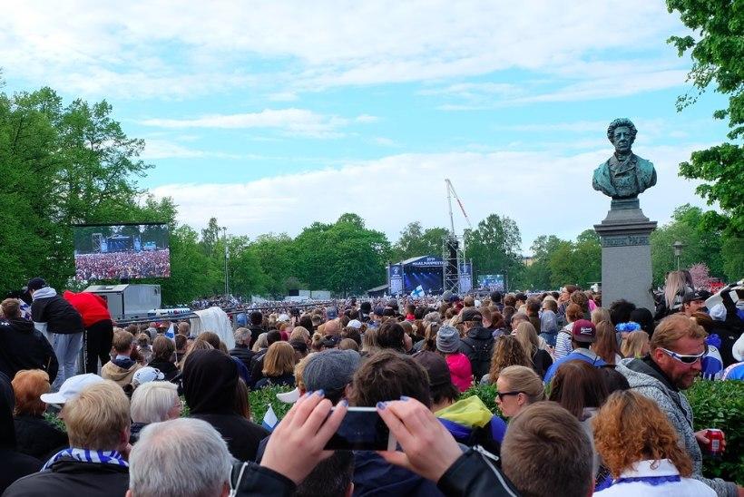 ÕL HELSINGIS   Blogi: meie kõigi võit, väikeste rahvaste võit!