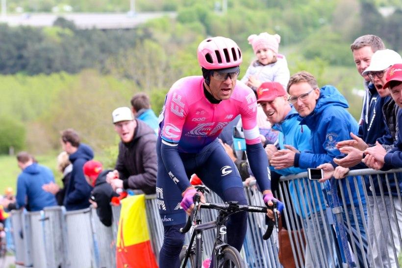 Giro d'Italial etapivõitu püüdnud Tanel Kangert sai kuuenda koha