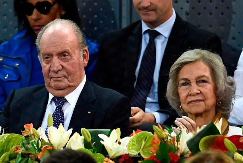 Hispaania kuningas taandub avalikust elust