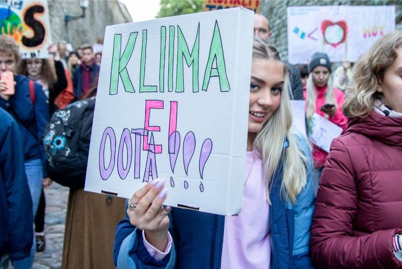 Kliimastreikijate vastulause Martin Helmele: Eesti tuleviku eest seismine on kodanikukohus, mitte sigadus
