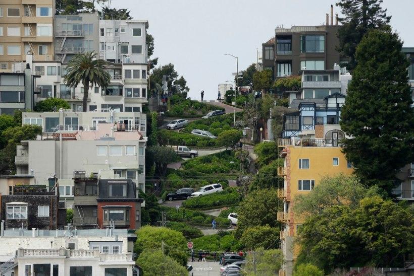 San Francisco ühel kuulsaimal tänaval sõit võib muutuda tasuliseks
