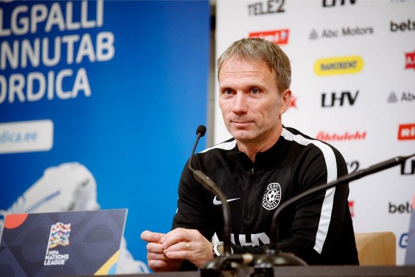 Vutikoondise peatreener Martin Reim: Klavan helistas ja ütles, et tema keha ei pea koormusele vastu
