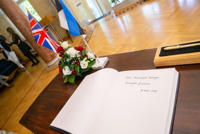 GALERII | Elizabeth II tütar printsess Anne saabus Eestisse