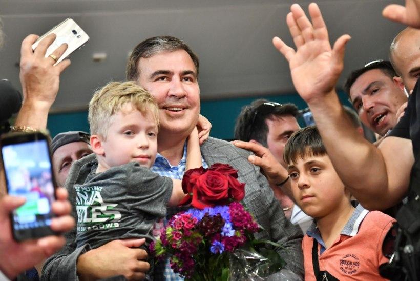 Михаил Саакашвили вернулся на Украину