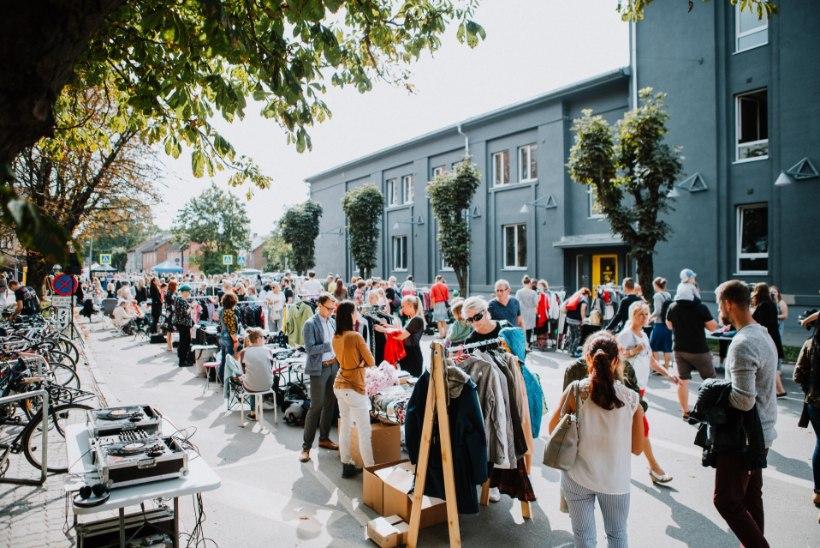 Tartu Aparaaditehases on laupäeval turg