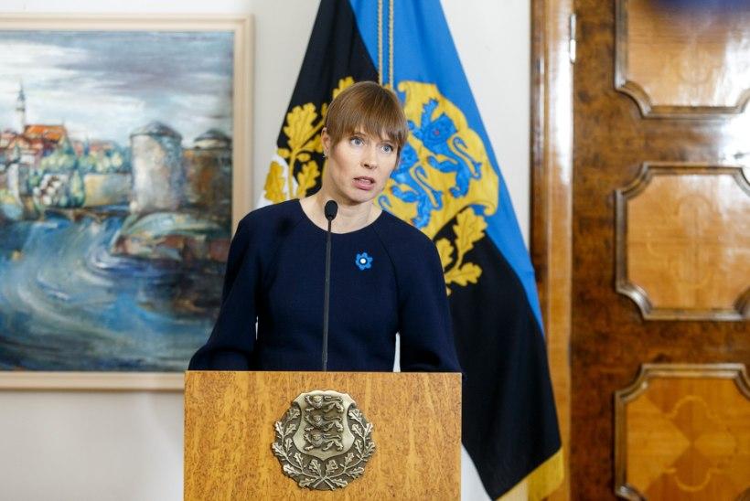 President Kaljulaidi avaldus Venemaa hääleõiguse taastamise küsimuses: me saame olla alati ja ainult väärtuste poolel