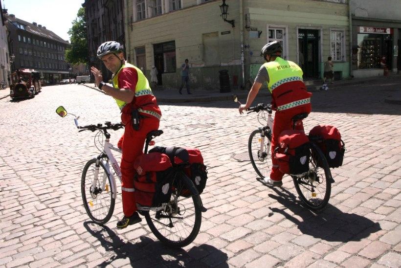 Tallinna kiirabi jalgrattapatrull alustab taas