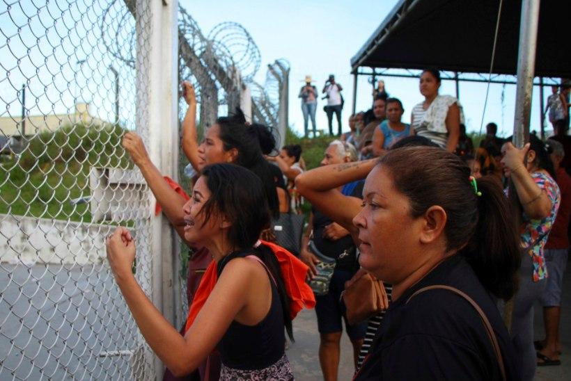 Brasiilia vanglarahutuste käigus on hukkunud 55 kinnipeetavat