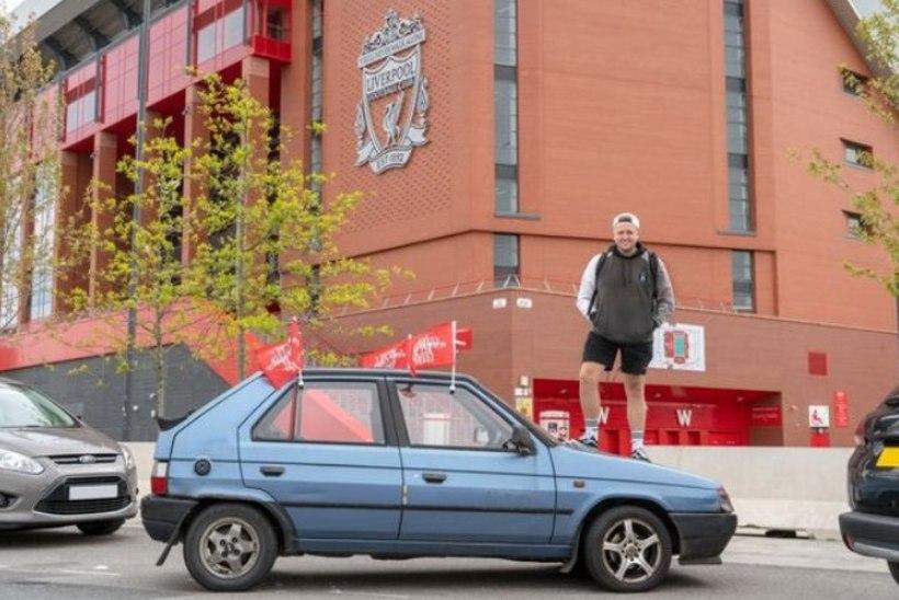 USKUMATU PÜHENDUMUS! Liverpooli fänn sõidab Meistrite liiga finaalile 45 euro eest soetatud romuga