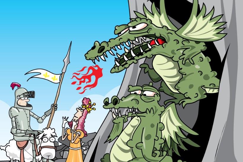 LOE | Muinasjutuvõistluse parimad palad: printsess röövib lohe ja mobiiltelefonid peavad lahingut