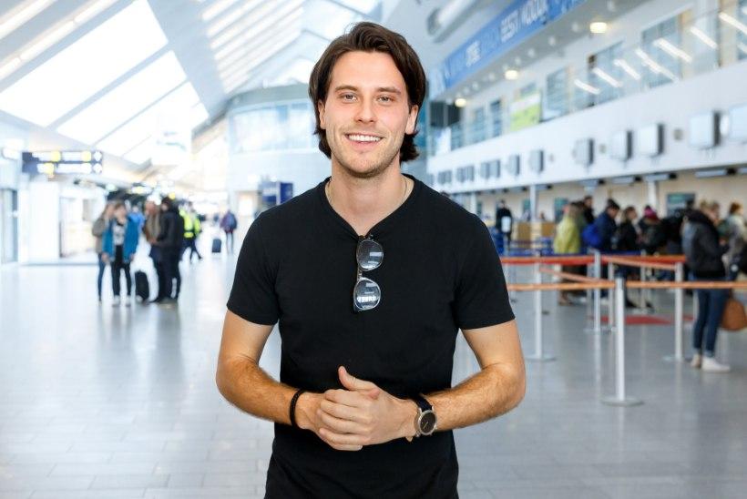 ÕL VIDEO JA FOTOD | Eurovisionile põrutanud Victor Crone: püüan keskenduda hääle korrashoidmisele