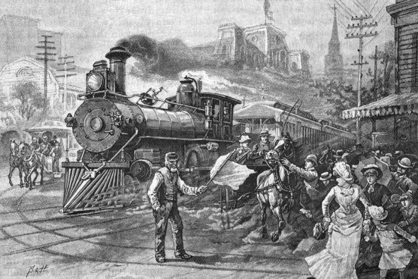 MINEVIKUHETK | 5. mai: USA esimene rongirööv sujus justkui õlitatult