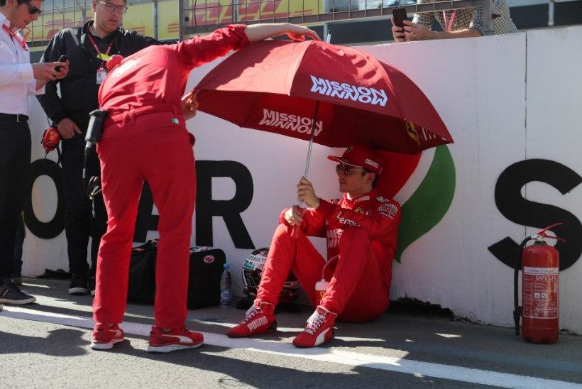 Charles Leclerc teeb kõik, et Vetteli varjust väljuda