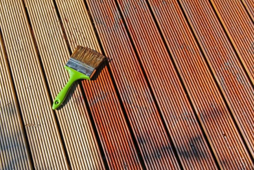 Kuidas anda terrassile värskem ilme ning kaitsta puitu ilmastiku eest?