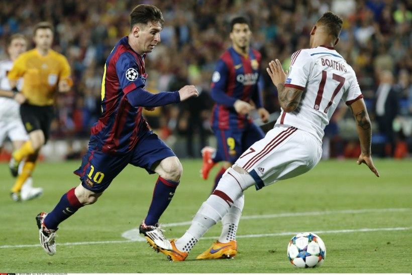 VIDEO | MAAGILINE HETK: Messi tegi tippkaitsja näost punasemaks kui tomati