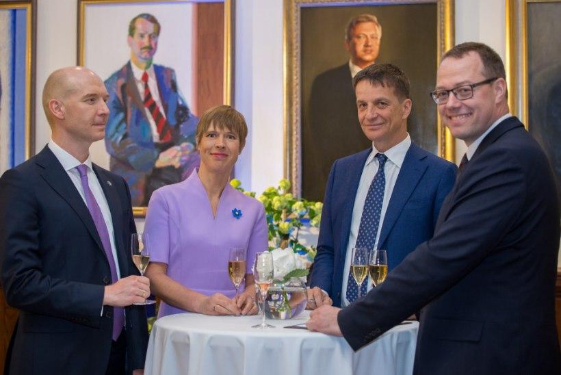 GALERII | Keskpank tähistas 100. aastapäeva piduliku vastuvõtuga