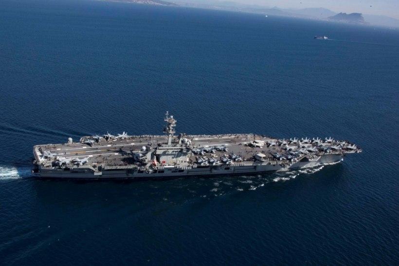 ÜHEMÕTTELINE SÕNUM: USA saadab Lähis-Itta oma sõjalaeva