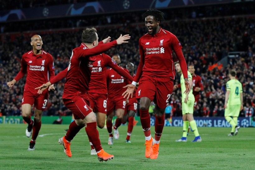 VIDEO   Jalgpallijumal on inglane! Imeline Liverpool hukutas Barcelona ja marssis finaali