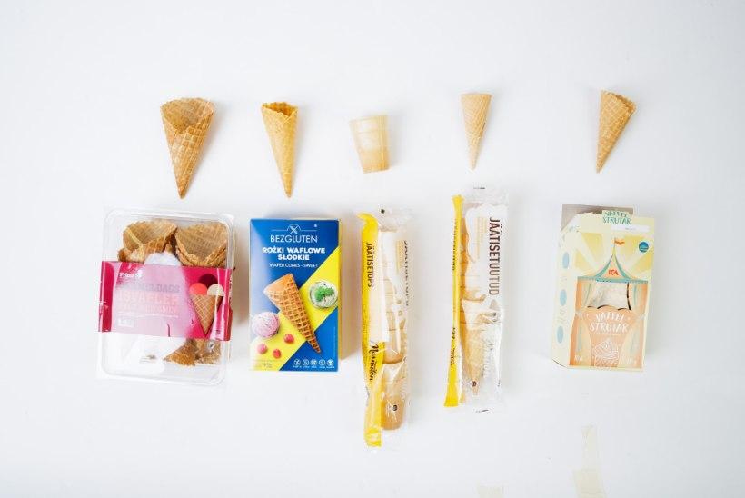 NAISTELEHT TESTIB | Igal sööjal oma torbik: milline poevahvel saavutab külma maiusega kõige parema kooskõla?