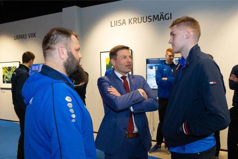 GALERII   Kunst kohtus spordiga: Eesti koondised alustasid teekonda suurturniiridele