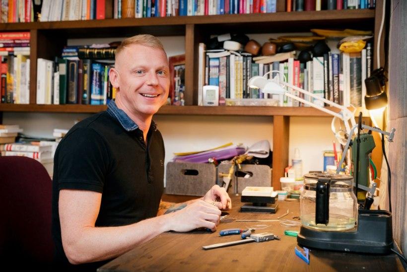 Arstist ehtekunstnik: töö on tõesti pingeline – seepärast aitabki mind hobi