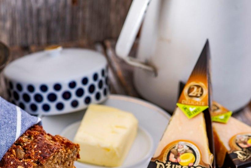 VIDEORETSEPT | Küllusliku maitsega leib Džiugase juustu ja tumeda õllega