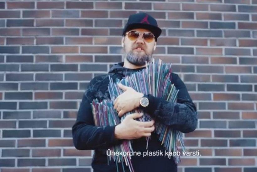 VIDEO | VÕTA EESKUJU! 5MIINUST, Genka ja Laura Põldvere kutsuvad inimesi üles loobuma plastikkõrtest