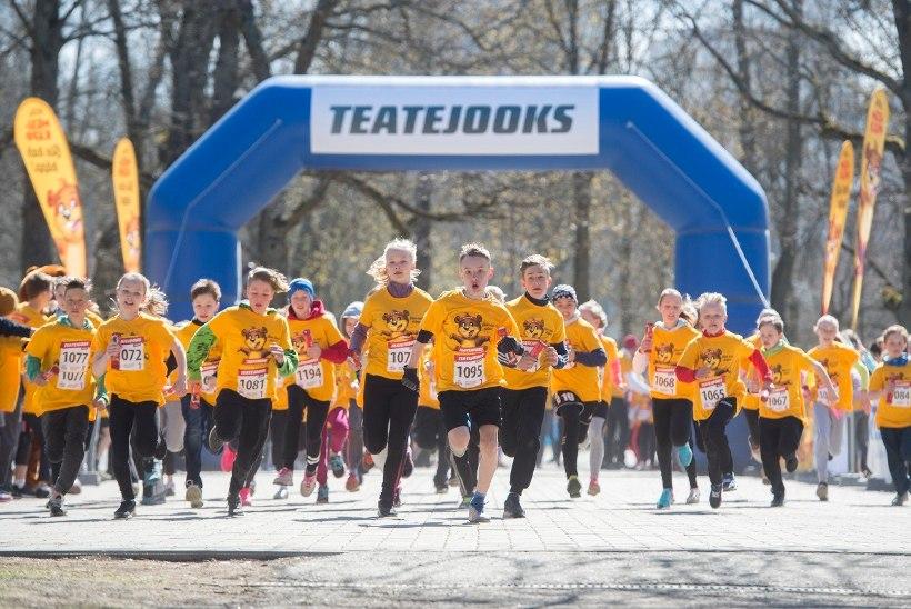 Tuhanded lapsed jooksevad ratastoolilaste koosmängimise toetuseks