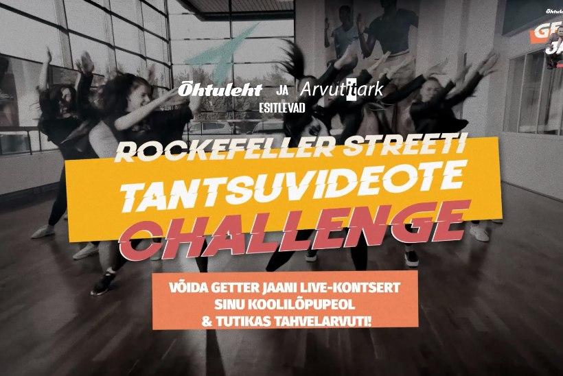 """Õhtuleht ja Arvutitark esitlevad: """"Rockefeller Streeti"""" suur tantsuvideote challenge! Võida Getter Jaani bändi live-kontsert ja tutikas tahvelarvuti"""