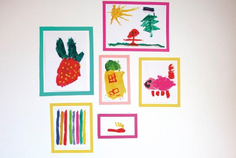 Vahvad mälestused! 10 ideed, kuidas laste kunstitööd vaid tolmu ei koguks