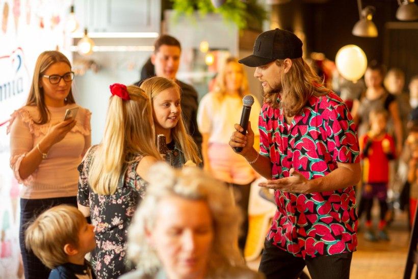 ÕL VIDEO JA GALERII   Daniel Levi Viinalass jäätisepeol: ma ei keela issi tütrele midagi!