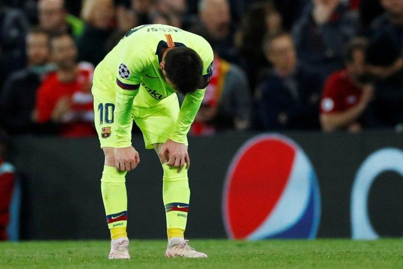 TOHOH! Lionel Messi jäeti pärast hävitavat Meistrite liiga kaotust meeskonna bussist maha