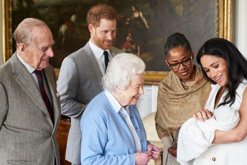 Prints Harry või hertsoginna Meghan: kelle nägu Sussexi beebi rohkem on?