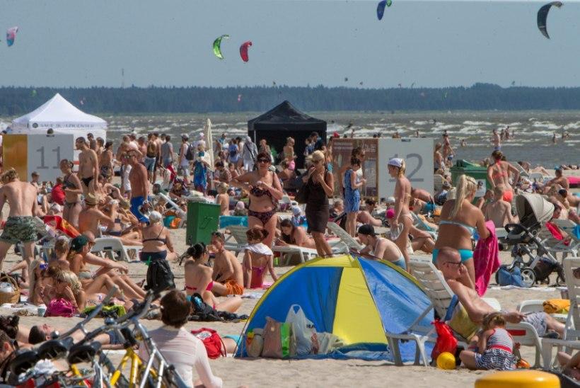 Pärnu on sisuliselt suveks valmis, rand saab korda 15. maiks