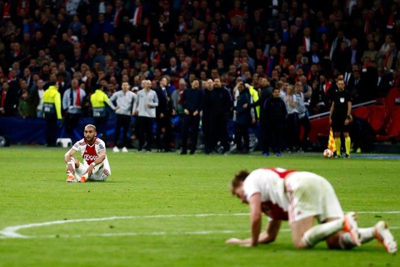 MAGUSHAPU GALERII | Ülidramaatiline lõpp surus Ajaxi vastu muru, Spursil oli voli rõõmust hulluks minna