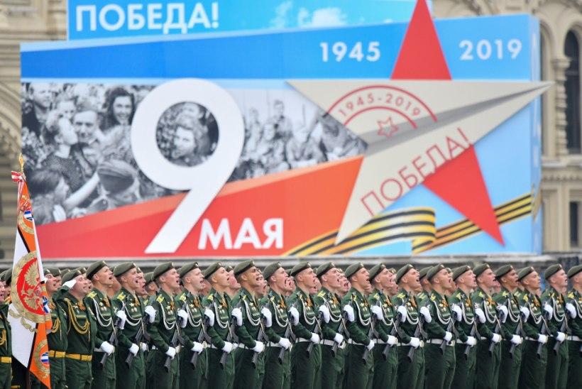 GALERII | Moskva Punasel väljakul toimus võidupüha paraad