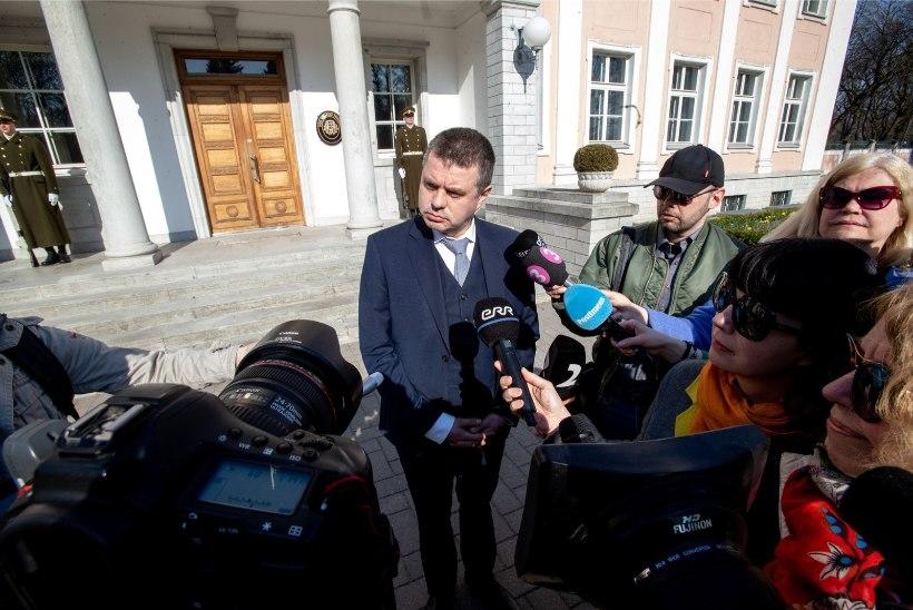 Reinsalu: Eesti mainet on kahjustanud rahapesuskandaal, mitte EKRE