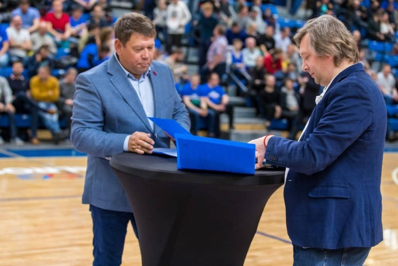 Kalev/Cramo alustas koostööd Tiit Soku korvpallikooli järglasega