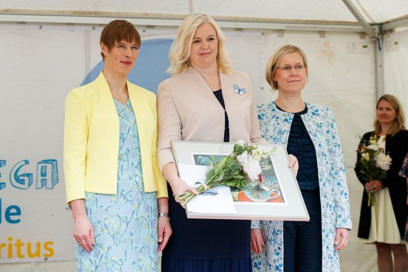 GALERII | President Kaljulaid lastekaitsepäeval: lapse muret oma planeedi pärast ei tohi pisendada