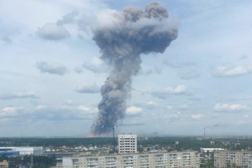 VIDEO | Venemaal plahvatas lõhkeainetetootja tehas