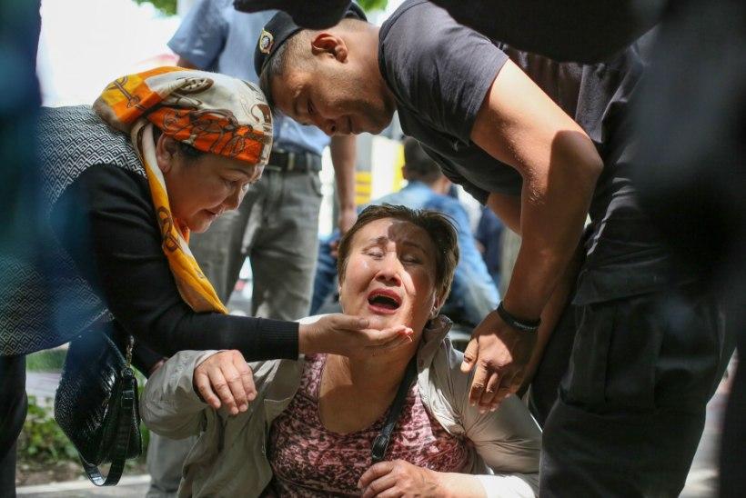Protestilainesse uppunud Kasahstani presidendivalimised