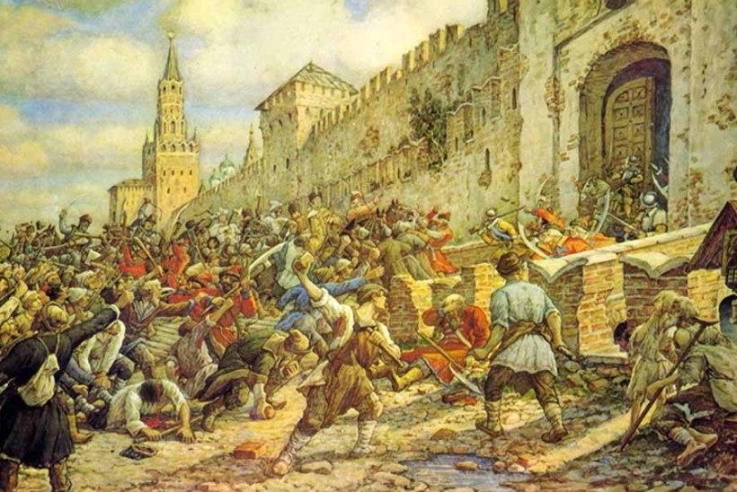 MINEVIKUHETK | 11. juuni: Moskvas algas soolamässuks ristitud ülestõus