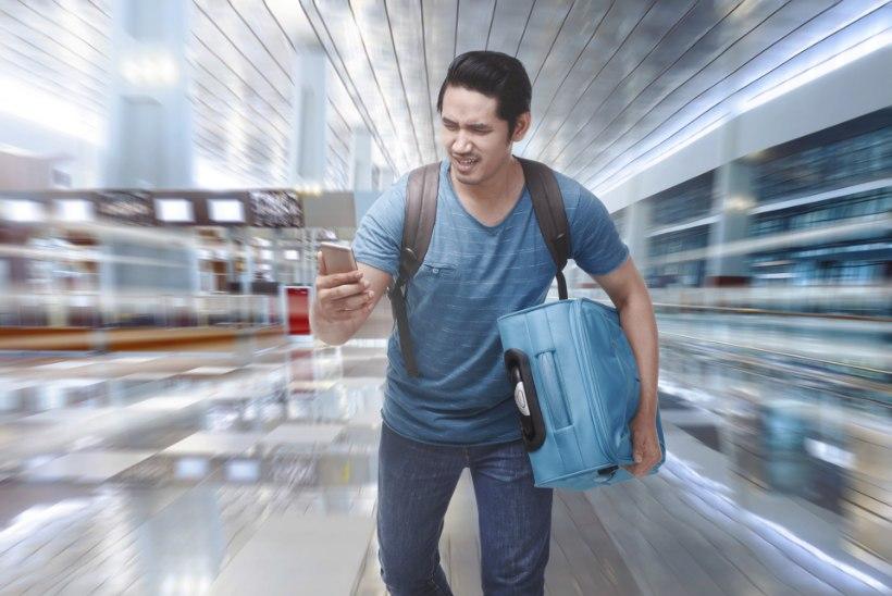 Reisifännid armastavad tegelikult lennust peaaegu maha jääda?