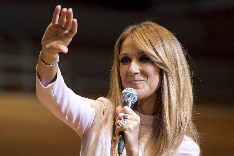 Céline Dion pani rekordilisele kontserdisarjale liigutava punkti