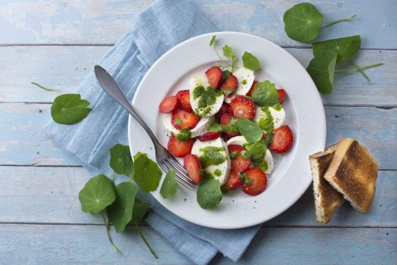 Kõikide daamide lemmik: maasika caprese