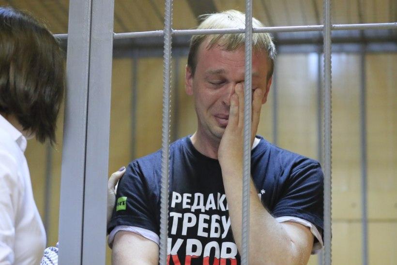 Narkokuritegudes süüdi lavastatud Vene ajakirjanik pääses vabaks