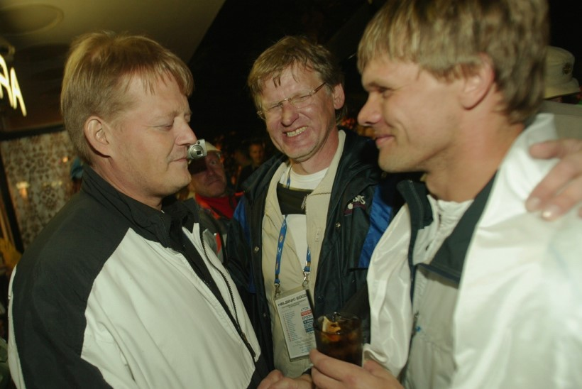HUVITAV: endine tippodaviskaja Seppo Räty kogus Eestis võistlevatele soomlastele 25 000 eurot