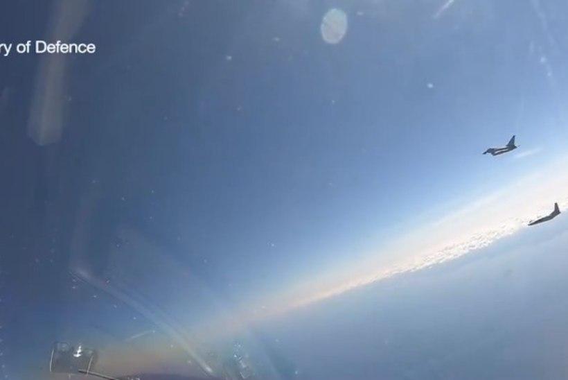 VIDEO | Briti lendurid takistasid Vene lennumasinatel Eesti õhuruumi tungimast